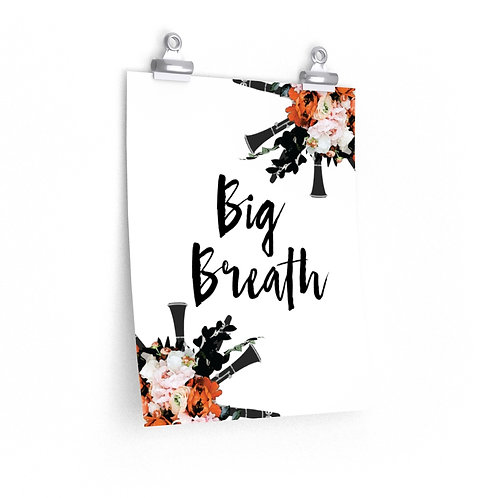 Big Breath Poster