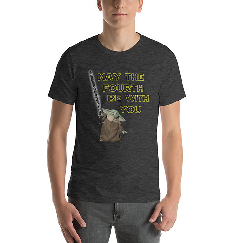 May the Fourth Be With You Heather Unisex T-Shirt
