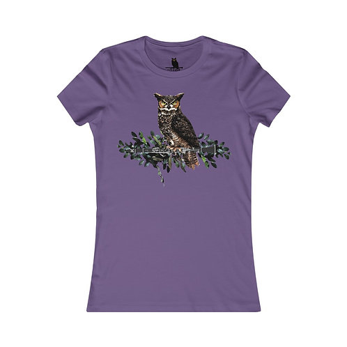 Clever Owl & Clarinet Women's Favorite Tee