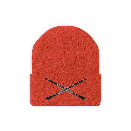 Clarinet Cross Knit Beanie