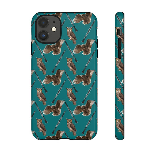Owls & Clarinets Tough Phone Cases