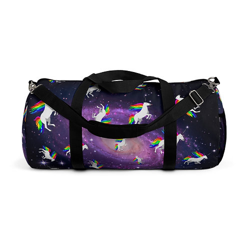Claricorns in Space Duffel Bag