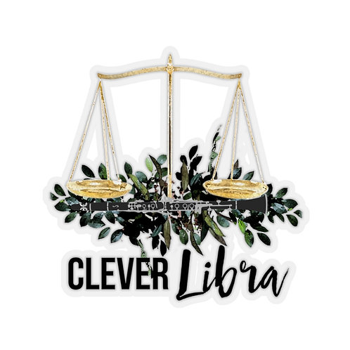 Clever Libra & Clarinet Stickers