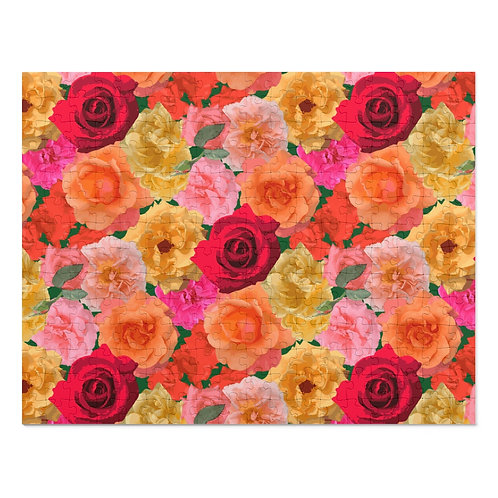 Roses of Loose Park 252 Piece Puzzle