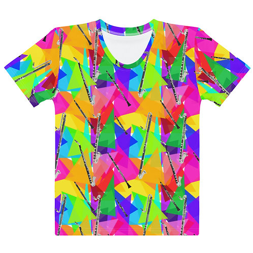 Clarinets & Abstract Triangles Women's T-shirt