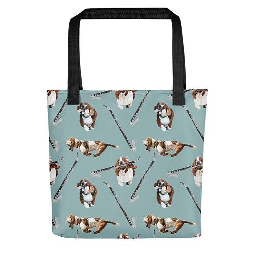 Basset Horns & Hounds Tote Bag