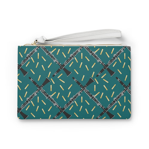 Clarinets & Reeds Clutch Bag