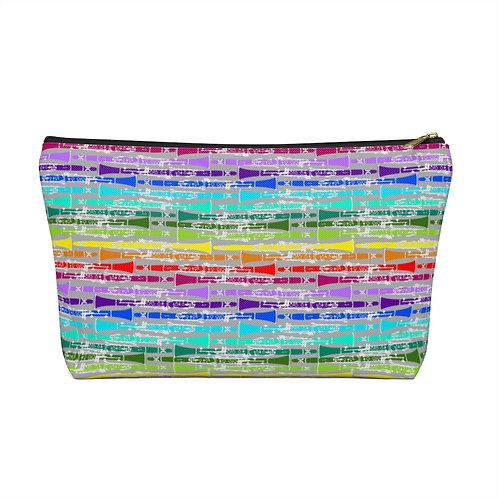 Rainbow Clarinet Accessory Pouch