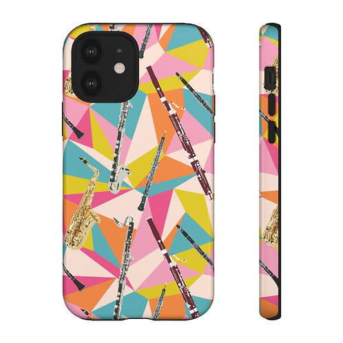 Reed Quintet Abstract Tough Phone Cases