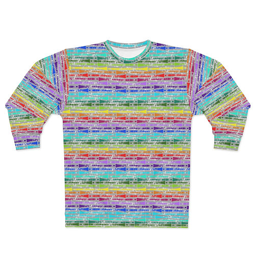 Clarinet Rainbow Unisex Sweatshirt