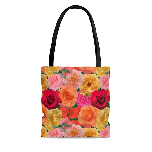 Loose Park Roses Tote Bag