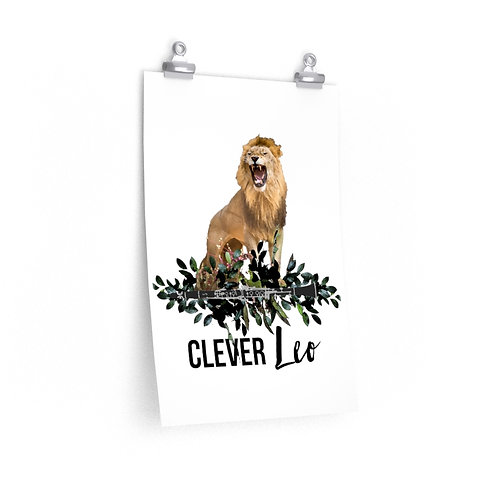 Clever Leo & Clarinet Posters