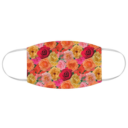 Roses of Loose Park Fabric Face Mask