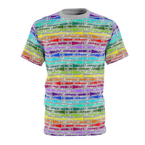 Clarinet Rainbow Unisex Tee