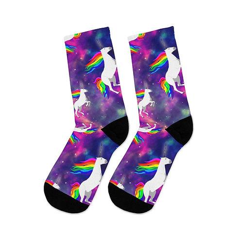 Claricorns in Space Socks