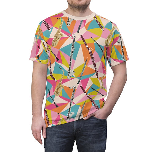 Reed Quintet Abstract Unisex Tee