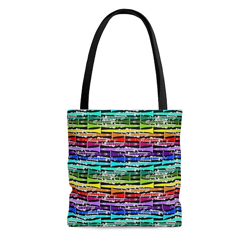 Rainbow Clarinets Tote Bag