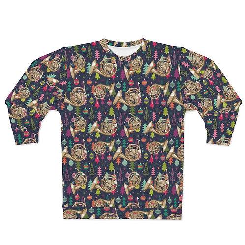 Christmas Horn Unisex Sweatshirt