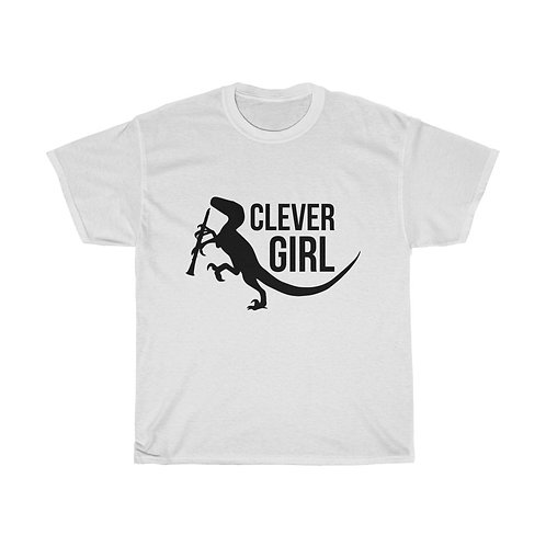 Clever Girl Unisex Heavy Cotton Tee