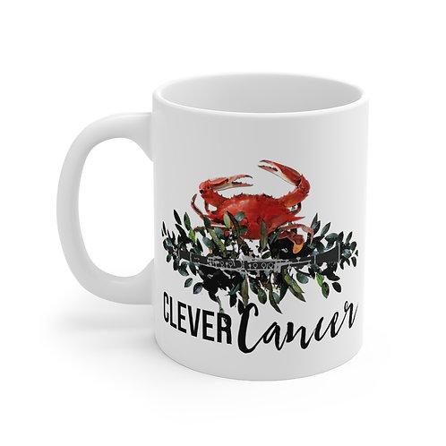 Clever Cancer & Clarinet Mug 11oz