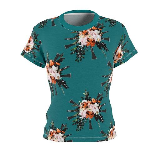 Women's Clarinet Bouquet T-Shirt