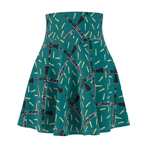 Clarinets & Reeds Skater Skirt