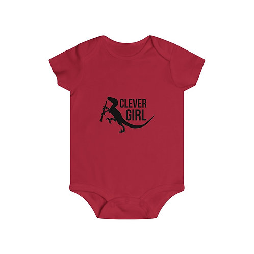 Clever Girl Infant Rip Snap Tee