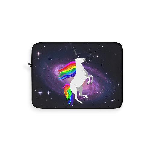 Claricorn in Space Laptop Sleeve