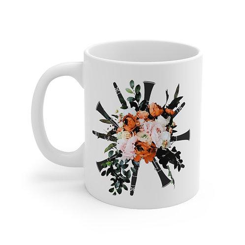 Clarinet Bouquet Mug 11oz