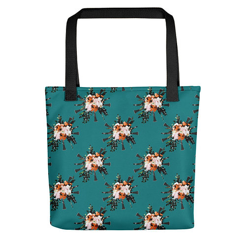 Clarinet Bouquet Tote Bag