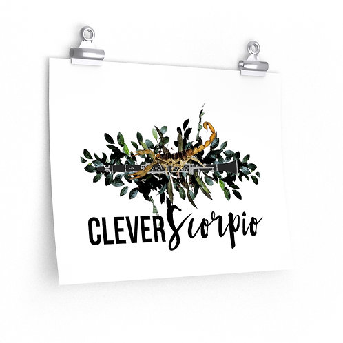 Clever Scorpio & Clarinet Posters