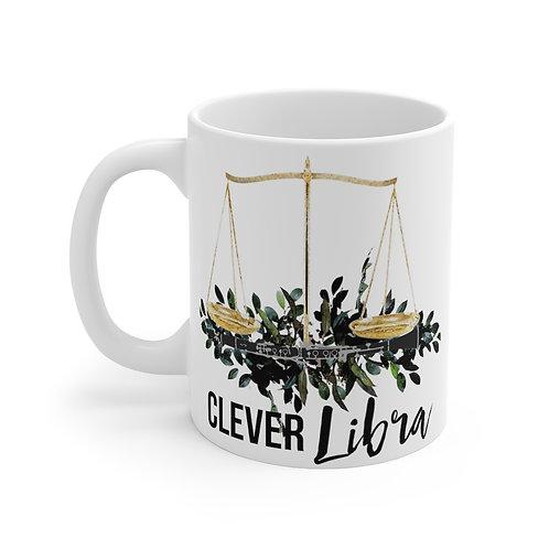 Clever Libra & Clarinet Mug 11oz
