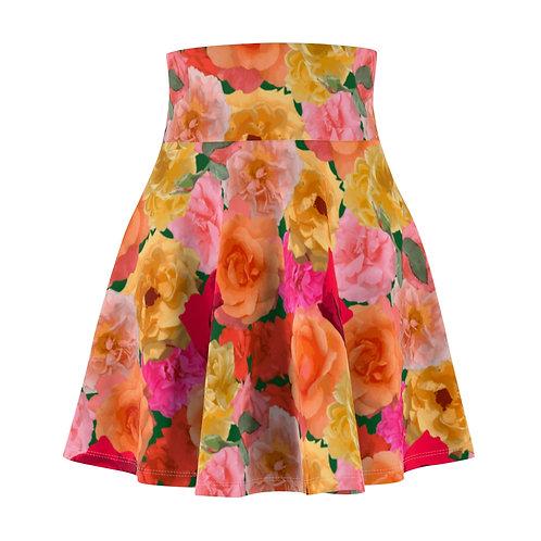 Roses of Loose Park Skater Skirt