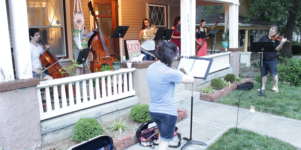 Porch Music at 45th & Bell