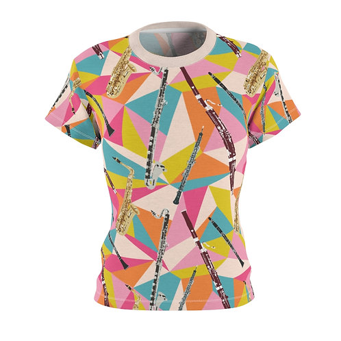Reed Quintet Abstract Women's Tee