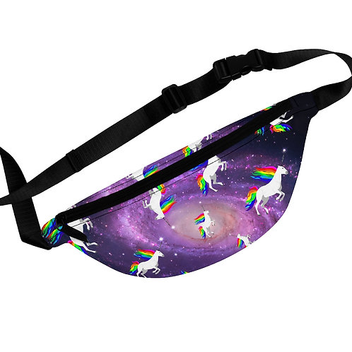 Claricorns in Space Fanny Pack