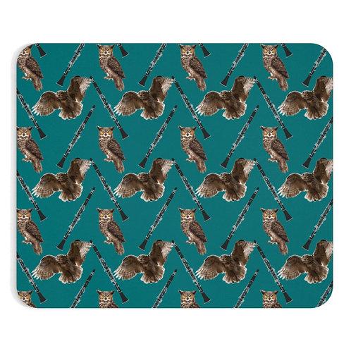 Clarinets & Owls Mousepad