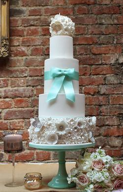 Flower ball cake