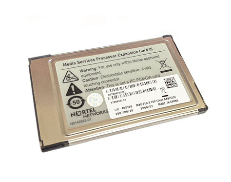 Nortel Networks Media Services Processor Expansion Card III