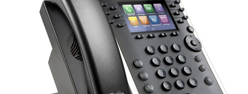 Poly VVX 411 IP Phone Skype for Business Edition