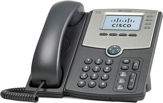 Cisco SPA514G VoIP/SIP Phone 4 Lines 2 Gigabit Ports PoE