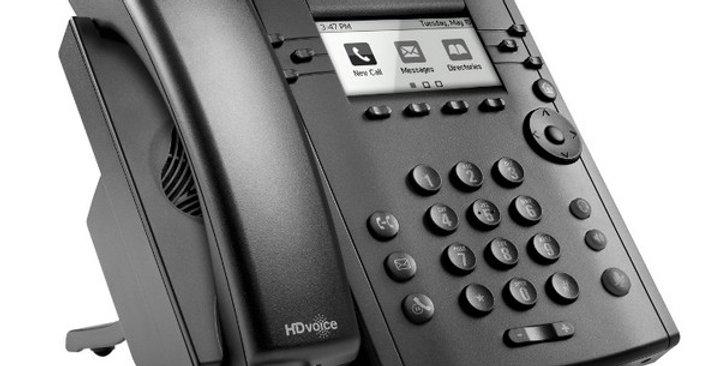 Polycom VVX 310 HD Business Media IP Desk Phone (No PSU)