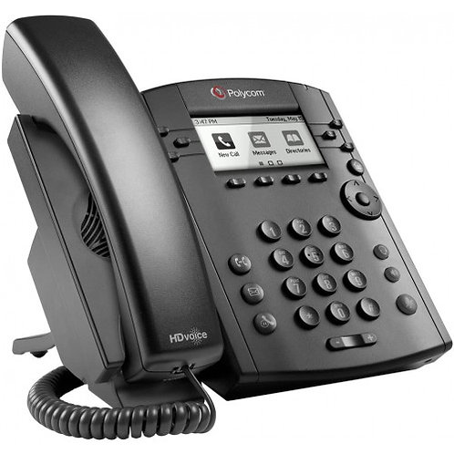 Poly VVX 311 IP Phone Skype for Business Edition