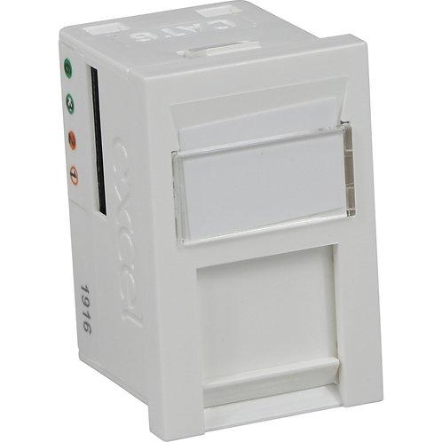 Excel CAT6 Unshielded RJ45 Outlet Module 100-301