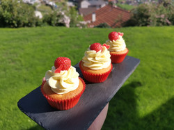Cupcakes Vanille Himbeer