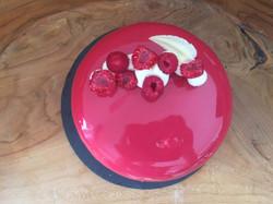 Himbeermousse Torte