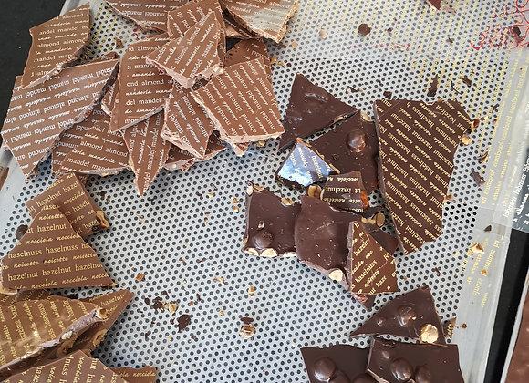 Bruchschokolade Dark/Rochers