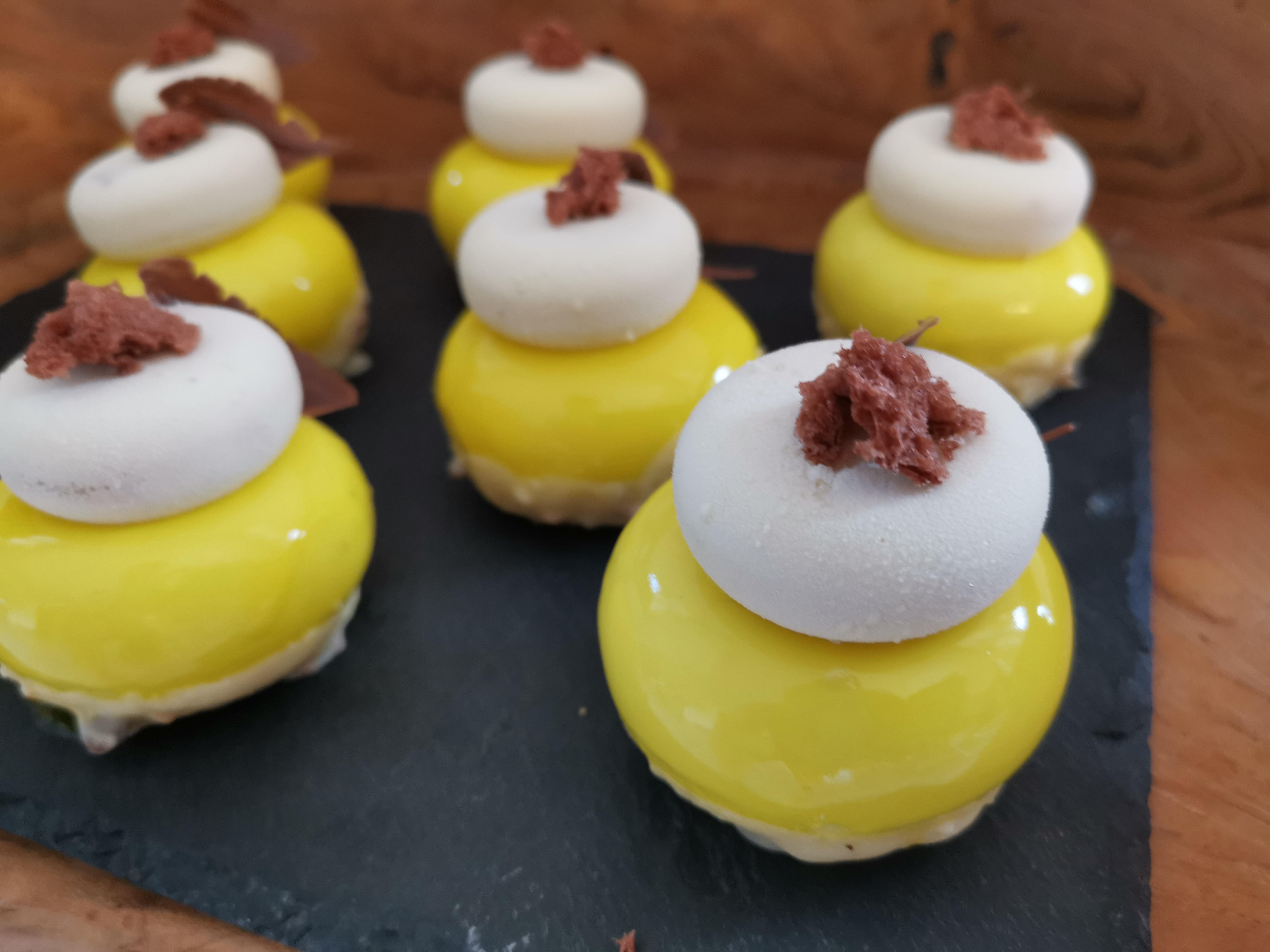 Quark/Passionsfrucht Mousse Törtchen