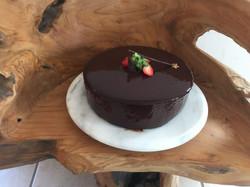 Haselnussmousse Torte