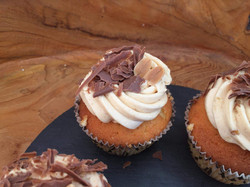 Cupcakes mit Erdnüssen